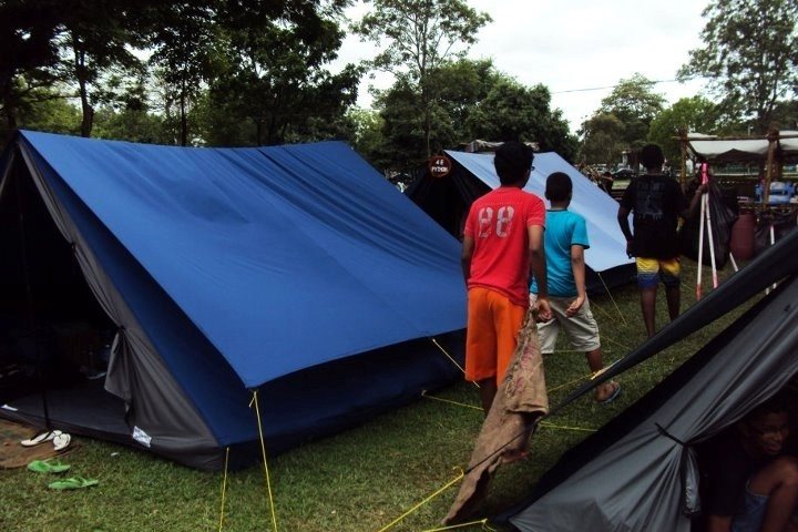 RCOBECA contributed towards the purchase of c&ing tents for the Royal College Scouts. & Donation of New Tents to Royal College Scout Troop u2013 RCOBECA